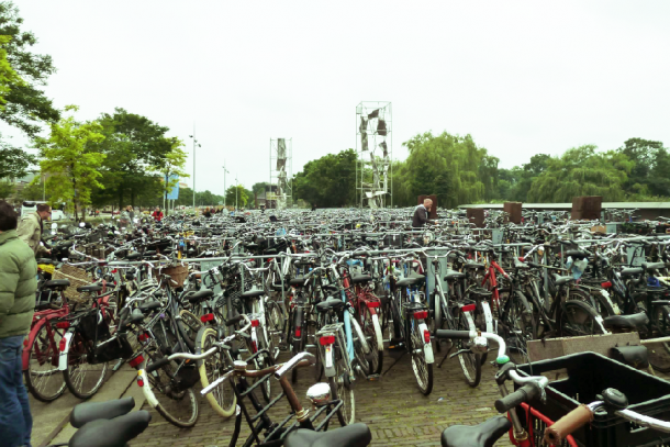 Vélo à Amsterdam - ©Jean Tiffon