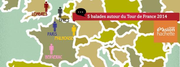 5 balades sur les routes du Tour de France 2014
