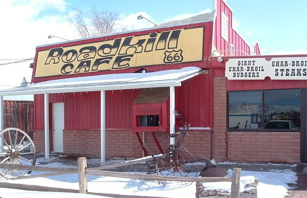 Roadkill Cafe, célèbre restaurant de la route 66 ©Hamon