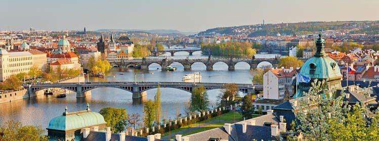 Prague, entre Art nouveau et cubisme