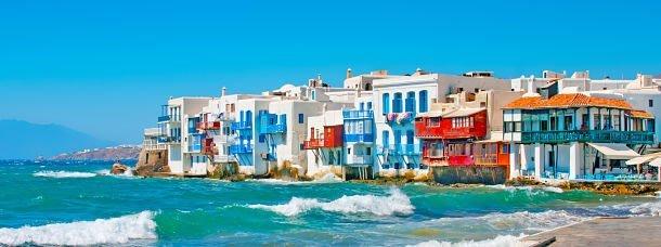 Vacances sportives dans les Cyclades