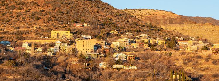 10 villes fantômes de l'Ouest américain