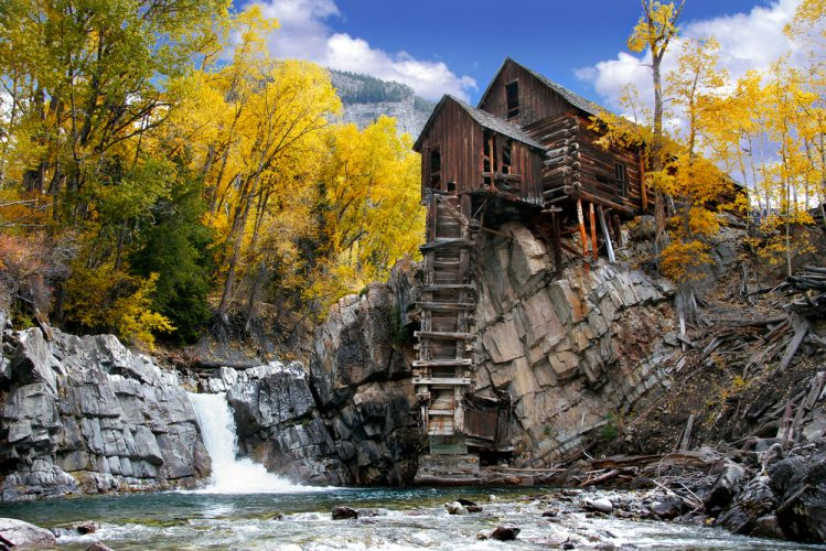 crystal mill colorado ouest americain ville fantome