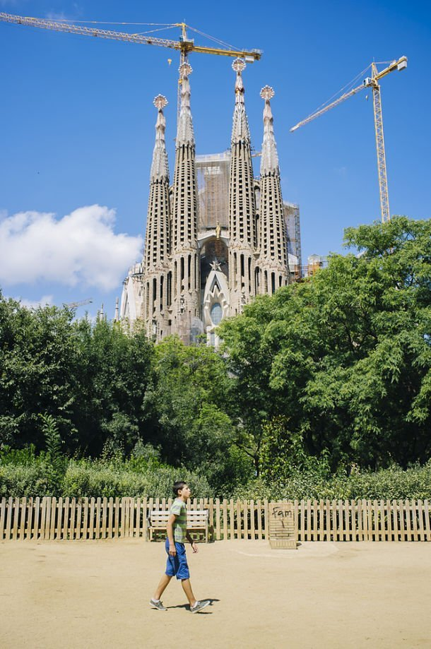 La Sagrada Familia ©Lemon Tree Images - Shutterstock