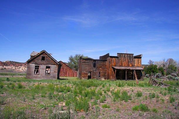 La ville de Johnson où furent tournés des films de western tels que Gunsmoke