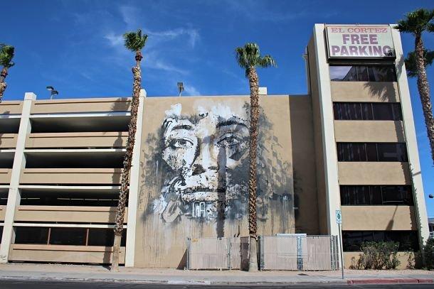 Les fresques Street Art du Downtown de Las Vegas ©Coralie Grassin