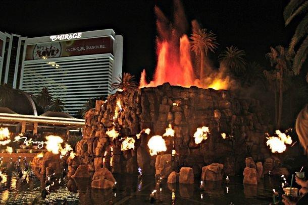 Les shows extravagance des hôtels de Las Vegas ©Coralie Grassin