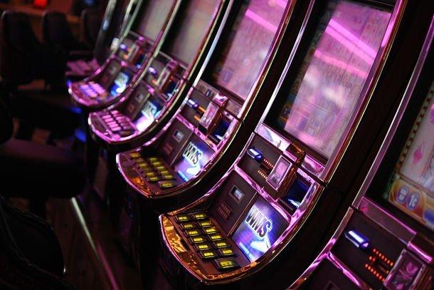 Les machines à sous sont partout à Las Vegas ©Coralie Grassin