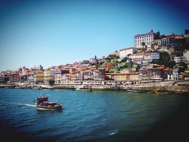 Porto depuis Villa Nova road trip