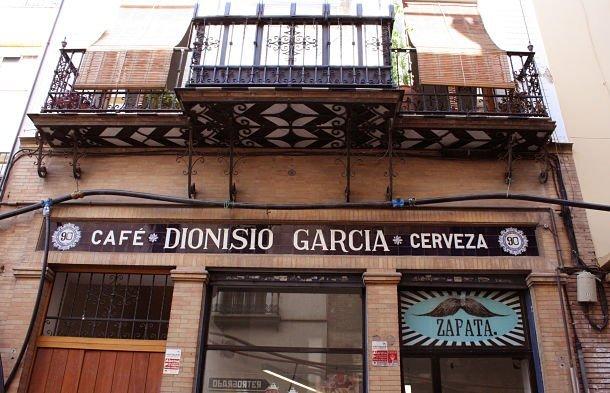 Devanture de la boutique Zapata séville