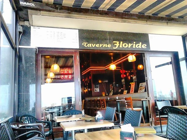 belgique Taverne Floride à Ostende - R.Hamon
