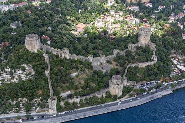 istanbul environs Forteresse Rumeli ©Mehmet Cetin - Shutterstock