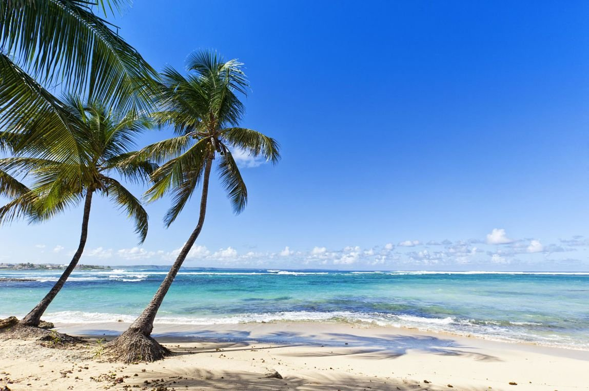plage Le Moule, Guadeloupe