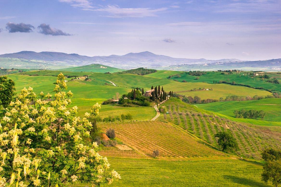 La Toscane ©Francesco R. Iacomino/Shutterstock