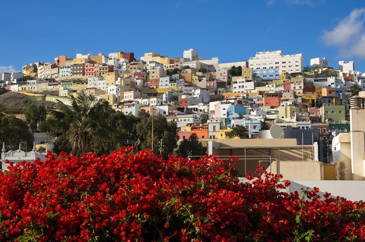 Las Palmas, capitale de Gran Canaria, îles Canaries