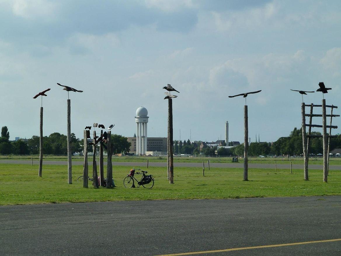 Le parc Tempelhofer, Berlin