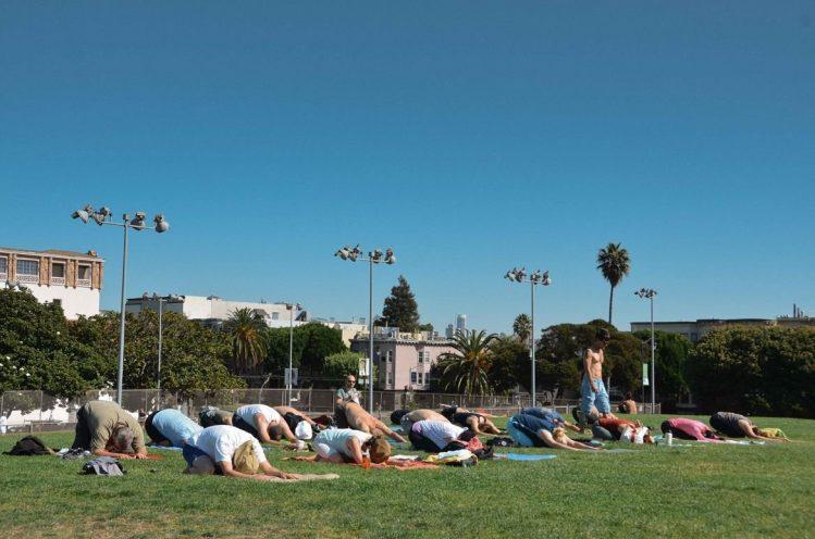 san francisco dolores park californie