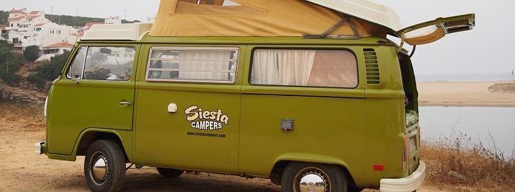 Portugal : Road trip en famille et combi Volkswagen en Algarve
