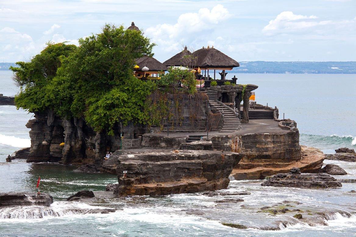 Le temple de Tanah Lot, Bali