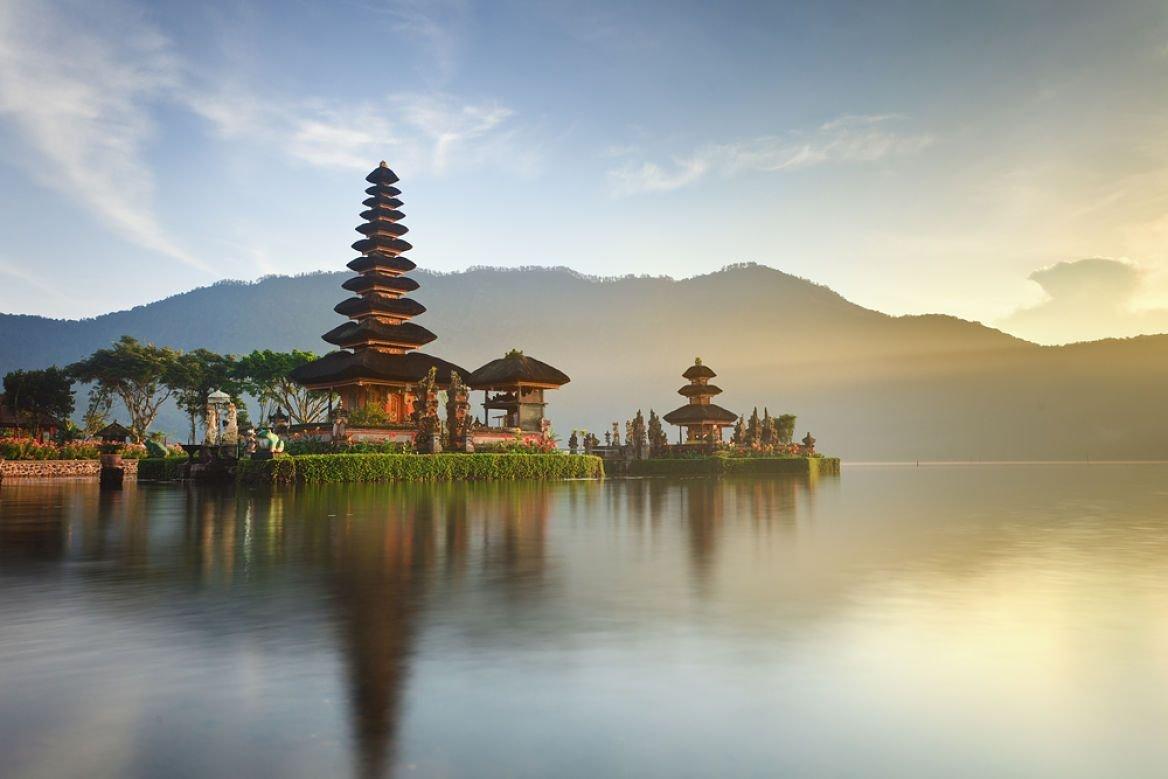 Le temple de Pura Ulun Danu Bratan, Bali