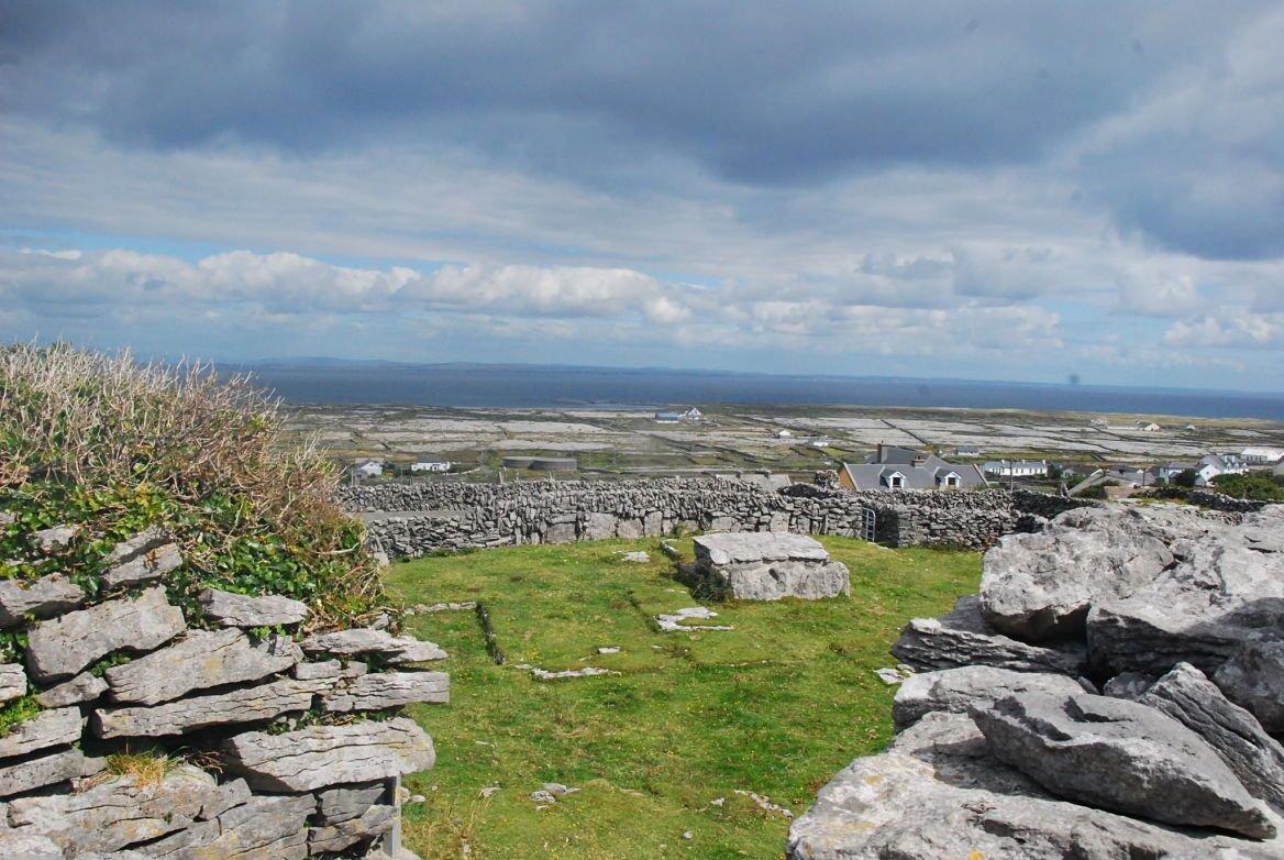 Le paysage d'Inis Meáin, Irlande