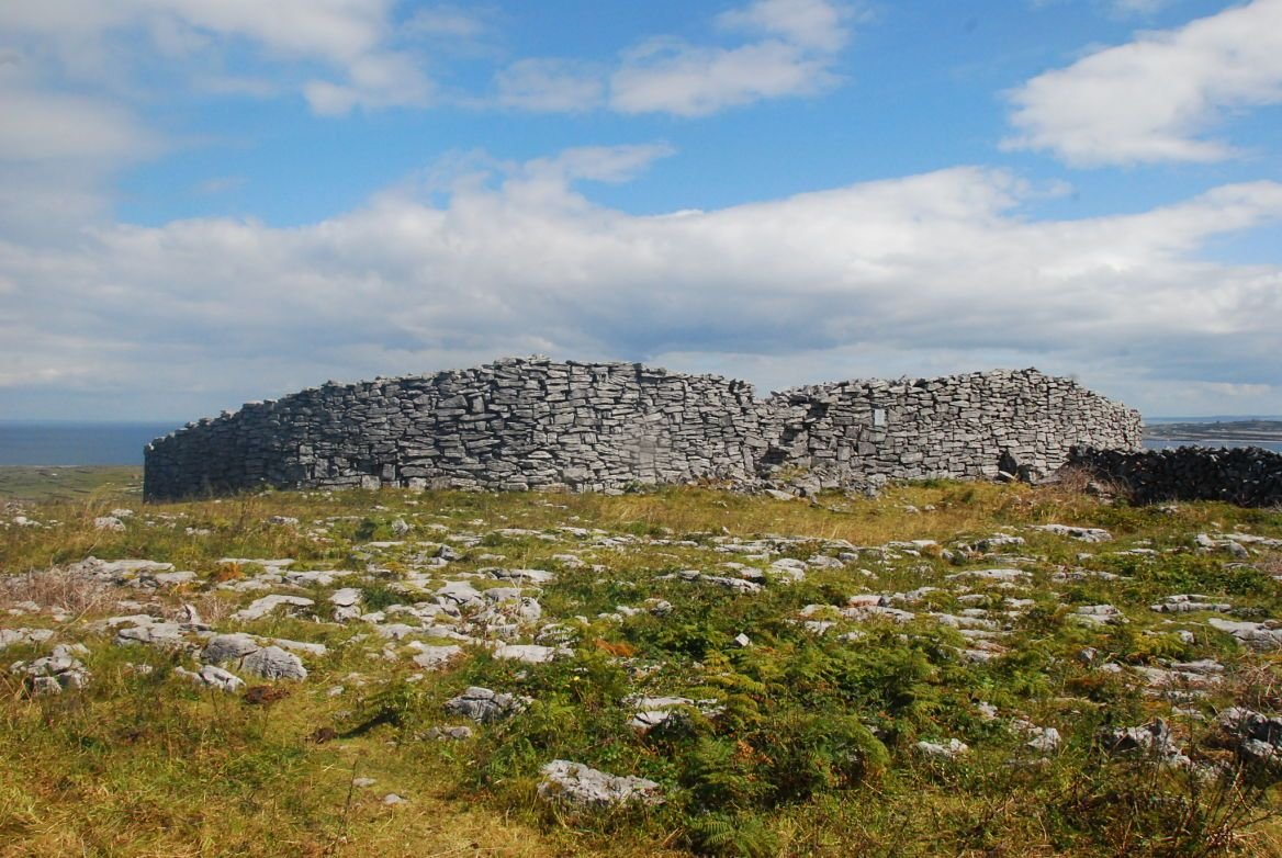 Le fort circulaire de Dún Conchuir, Irlande