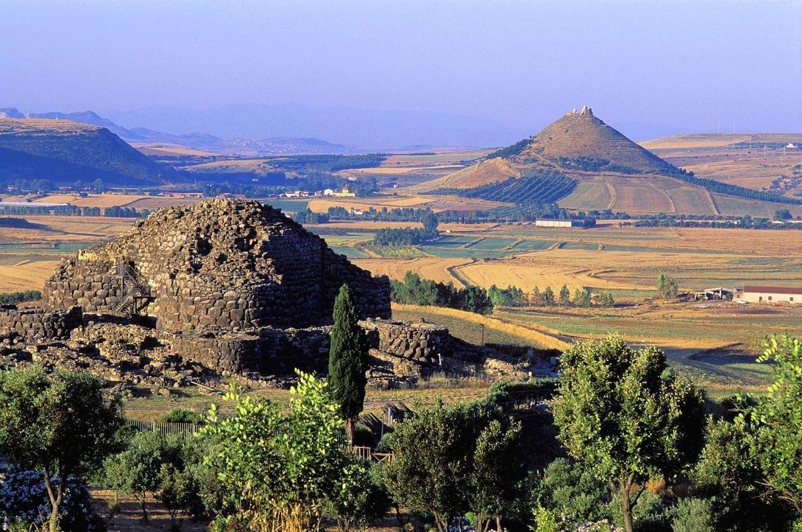 Le site archéologique de Su Nuraxi, Sardaigne