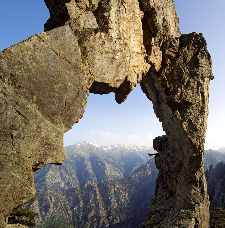 Arche de Padule, vallée du Tavignano, Corse