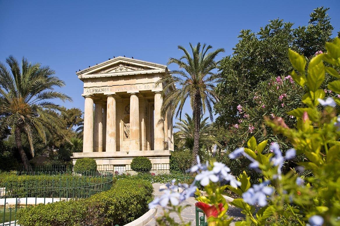 Lower Barraca Gardens, la Valette, Malte