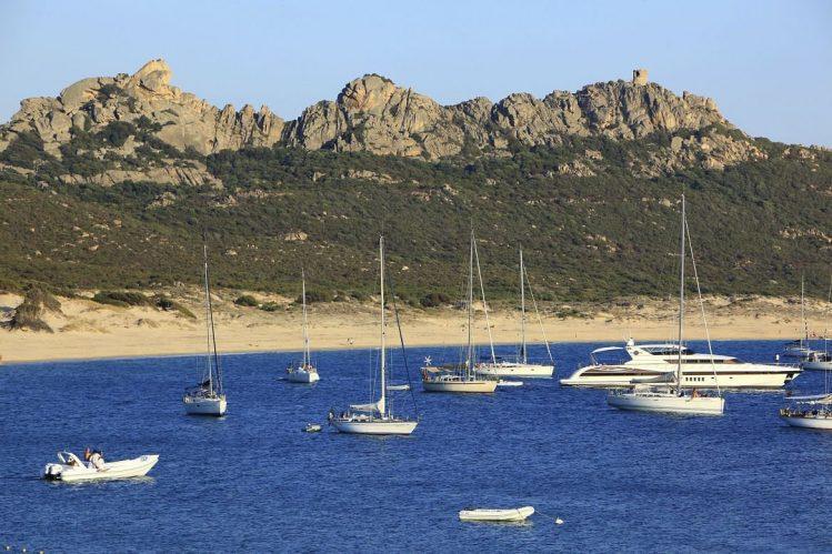 Plage et golfe de Roccapina, Corse