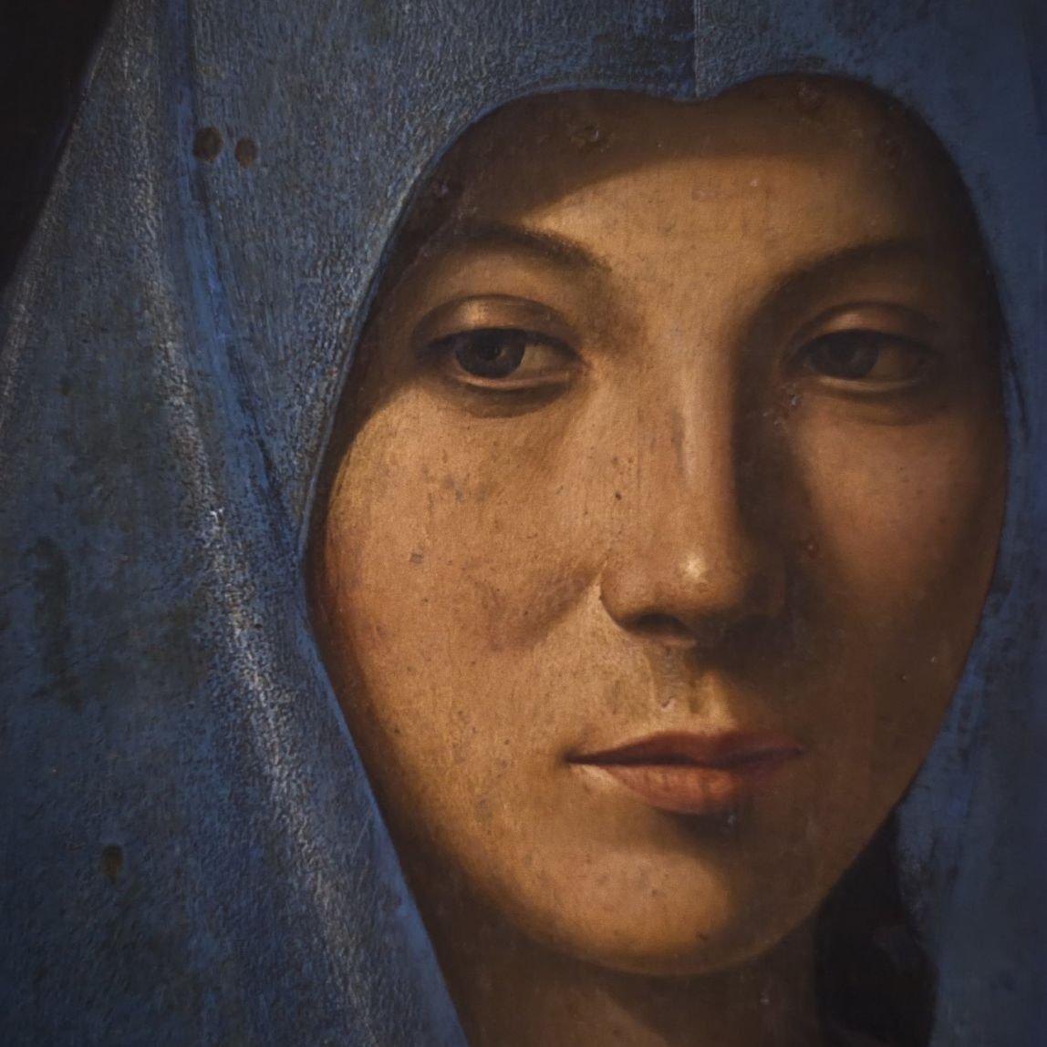 La vierge de l'Annonciation, A. Da Messina, Sicile