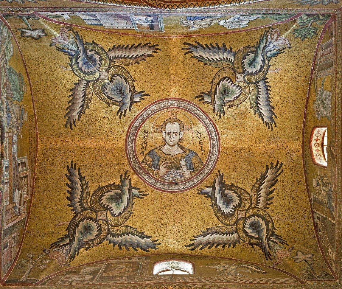 Mosaïque de la basilique de Montreale, Sicile