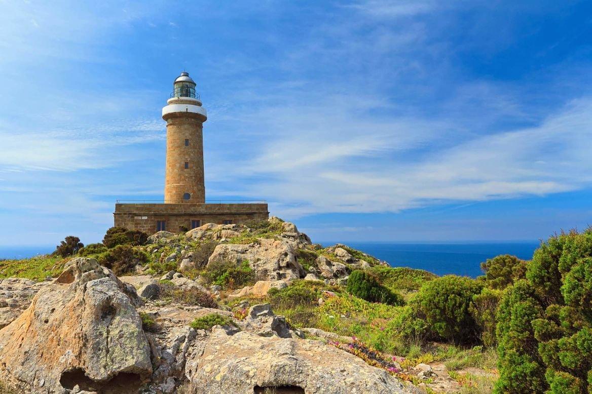 Le phare de Caleforte, Sardaigne