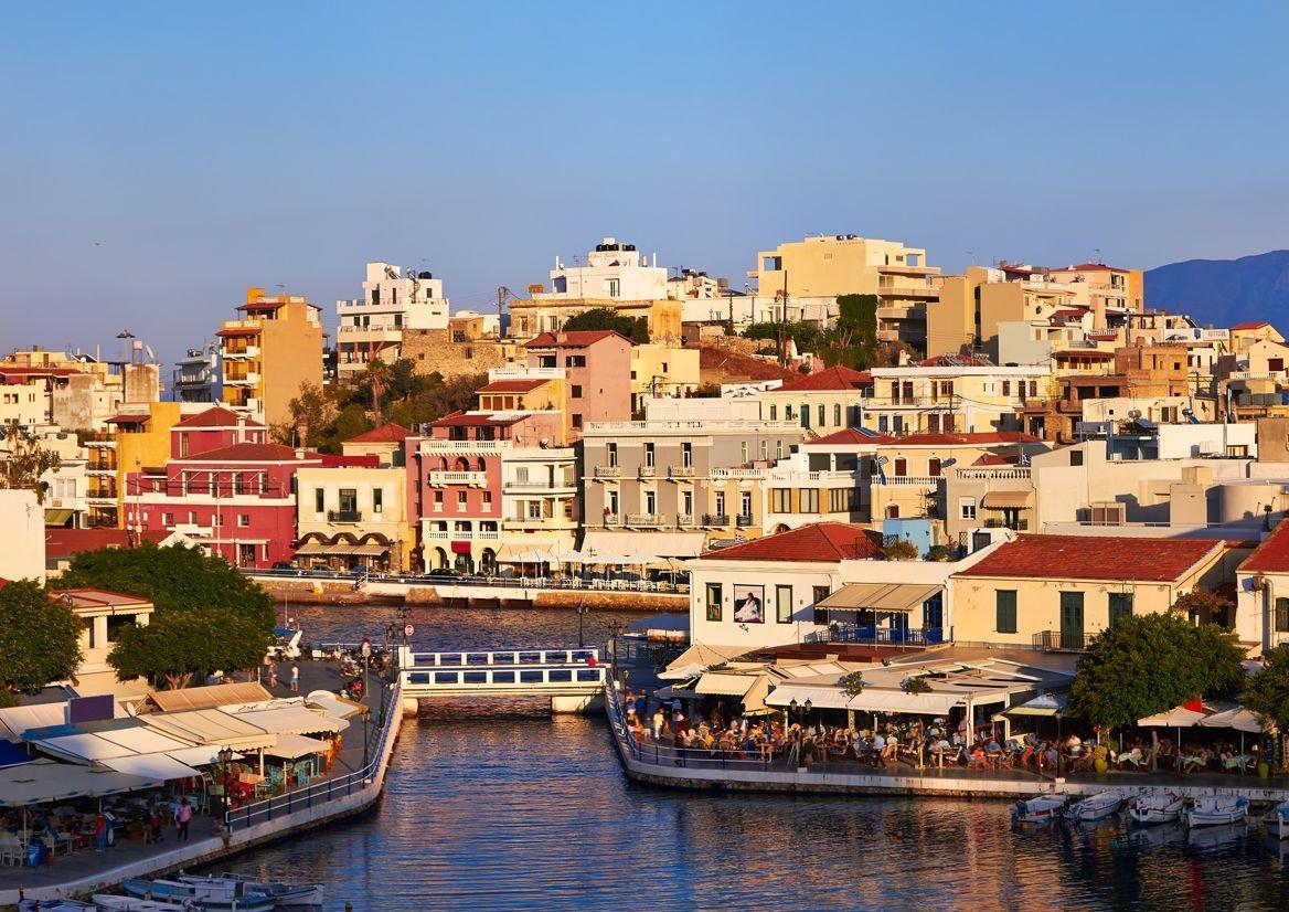 Agios Nikolaos, Crète