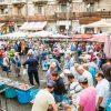 Marché de Catane, Sicile