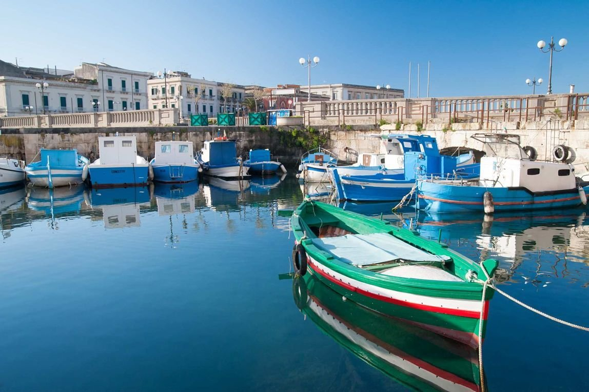 Port de Syracuse, Sicile