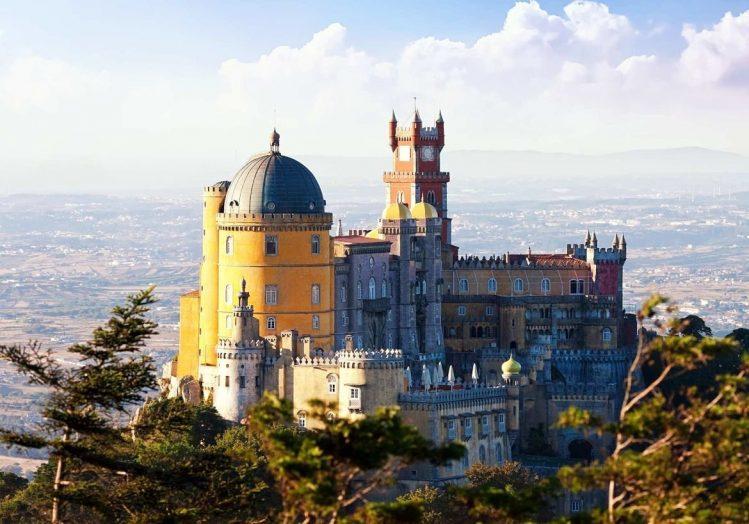 le Palais de Pena, Sintra, Portugal