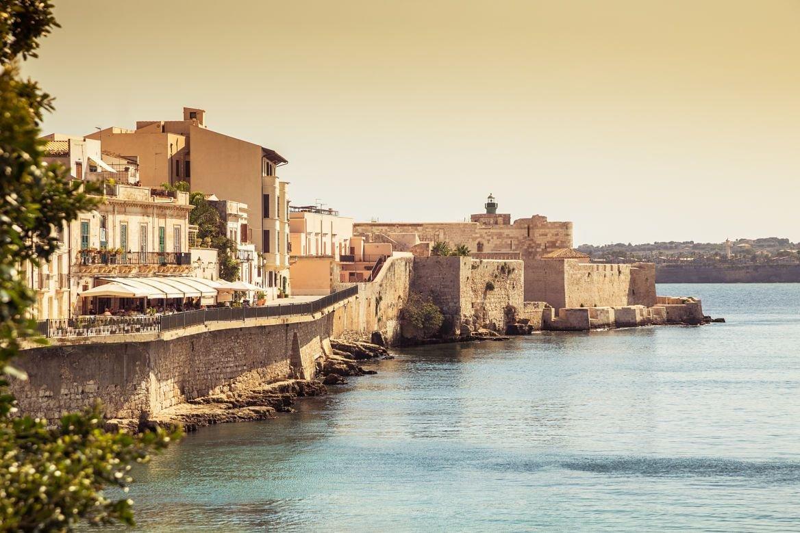 L'île Ortigia, Sicile ©funkyfrogstock/Shutterstock