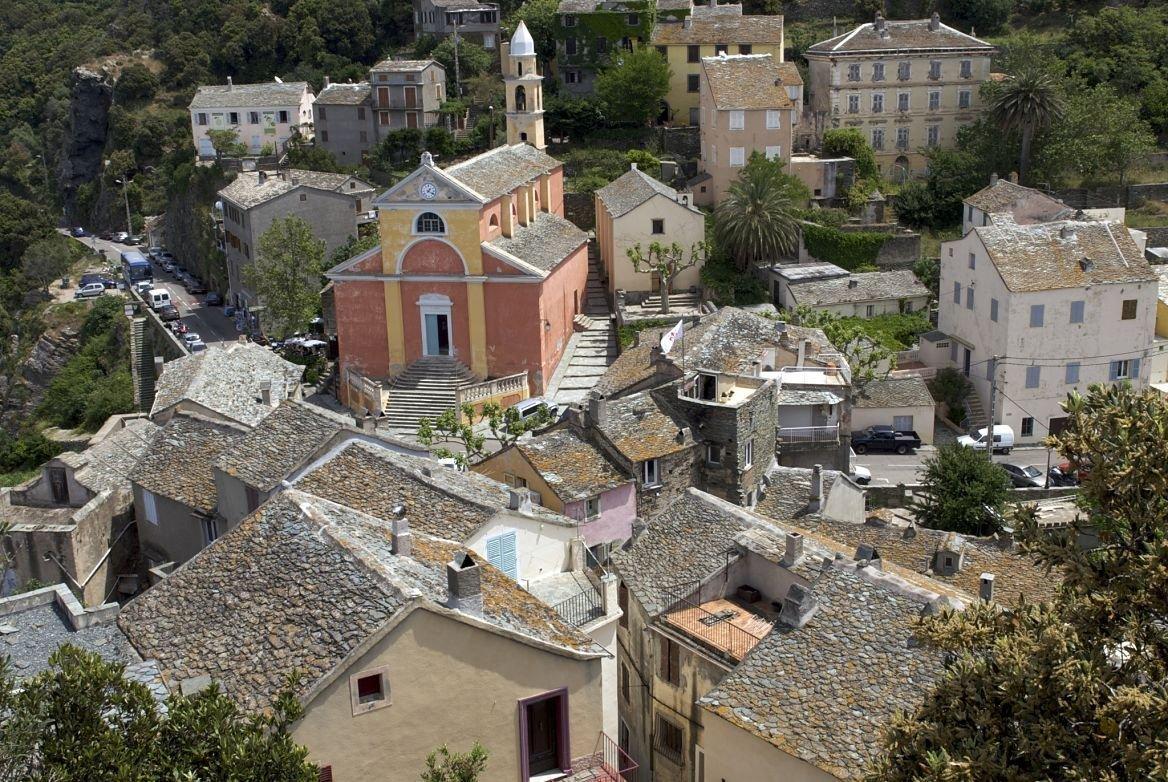 Le village de Nonza, Corse