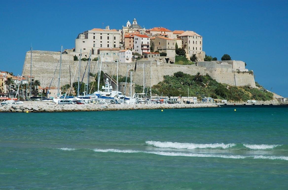 La citadelle de Calvi, Corse