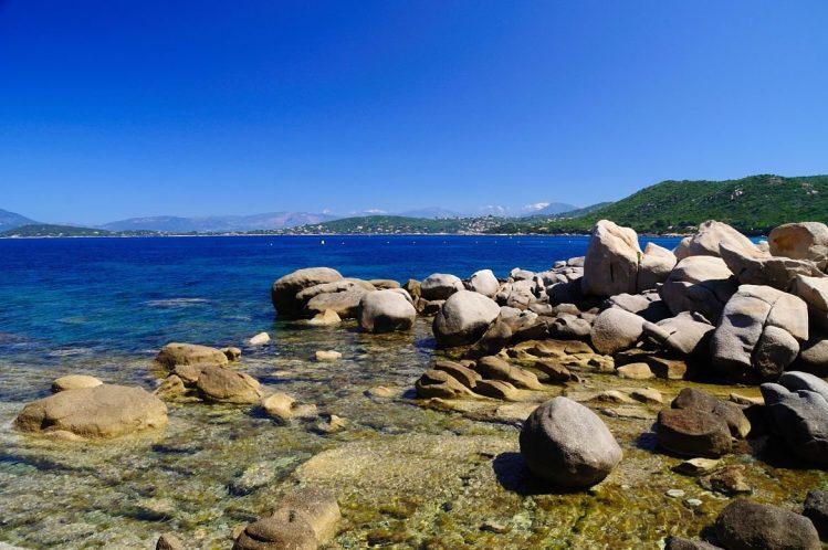 La plage de Mare e Sole , Corse