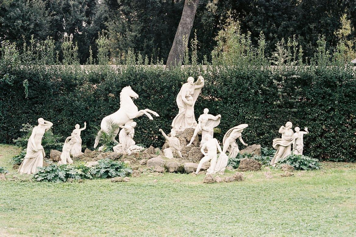 Villa Medicis, Rome, Italie