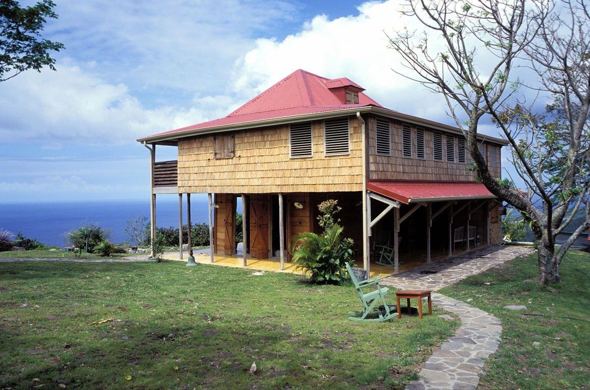Maison créole en Grande-Terre, Guadeloupe