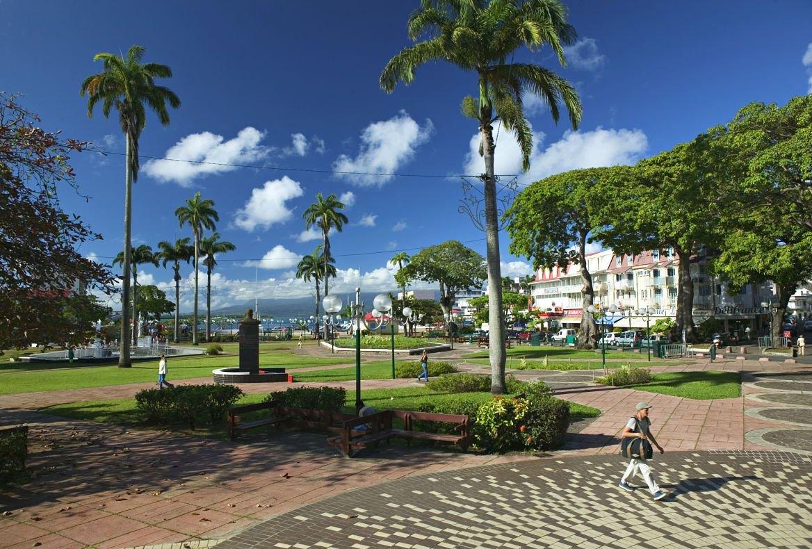 Place de la Victoire, Pointe A Pitre, Grande Terre, Guadeloupe