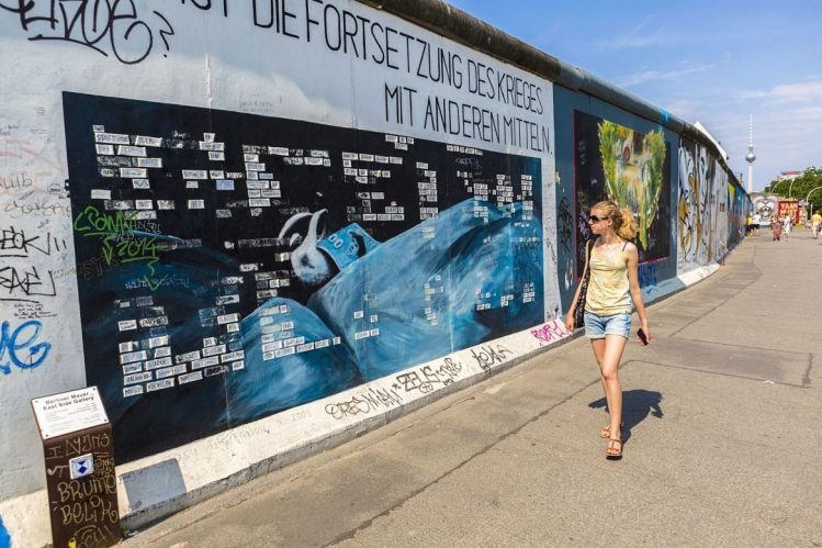East Side Gallery, incontournables, Allemagne