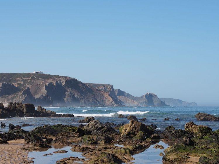 Amado, Algarve, Portugal plages