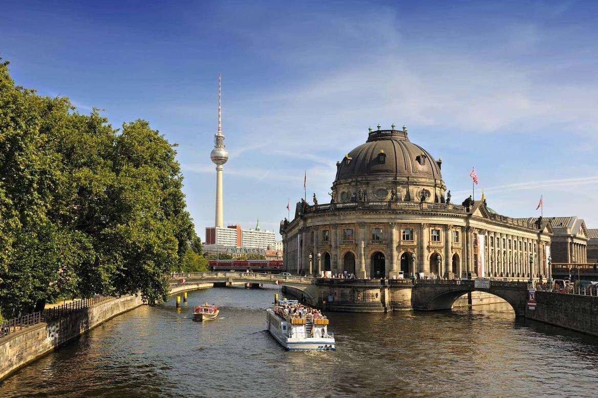 Bode Museum, île des Musées, Berlin, Allemagne