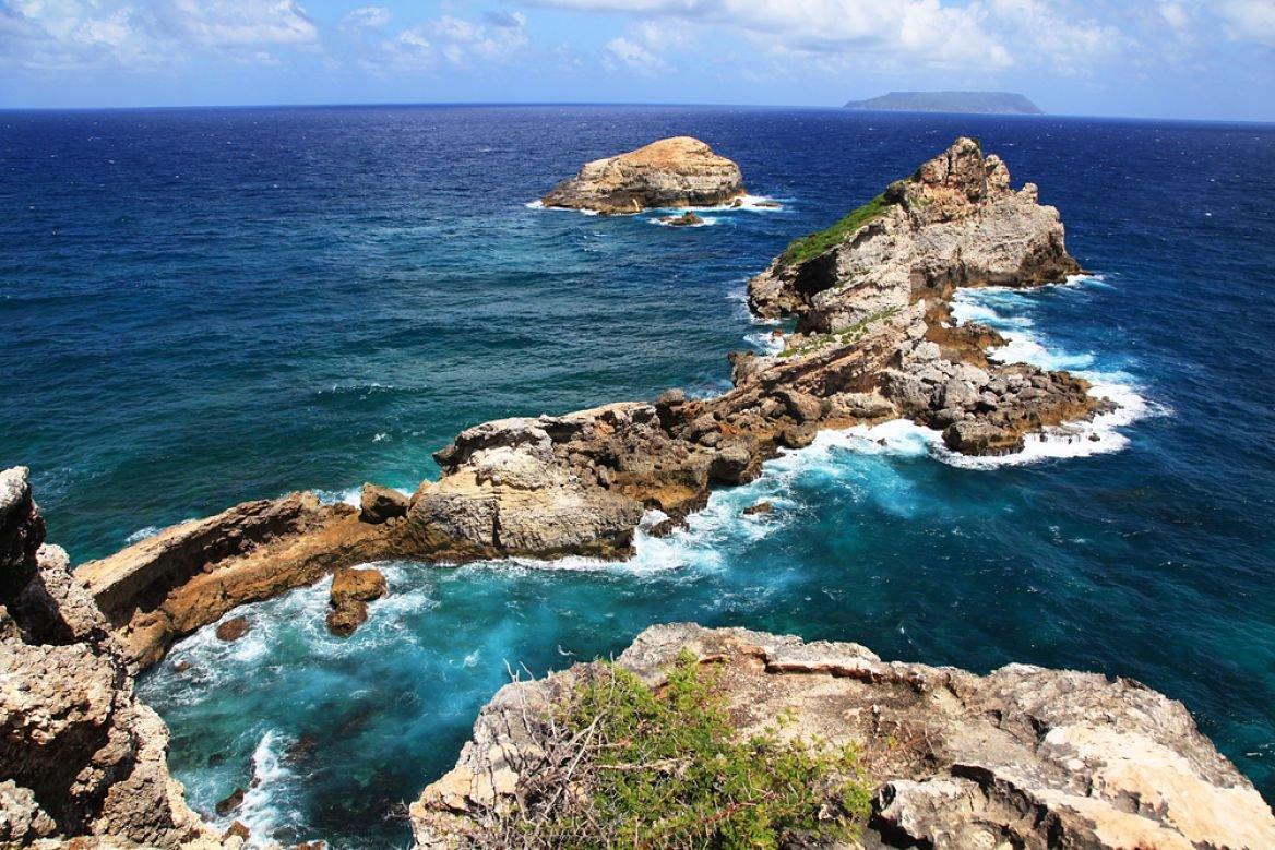 La pointe des Châteaux, Grande-Terre, Guadeloupe