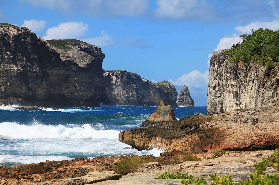 La pointe de la Grande-Vigie, Grande-Terre, Guadeloupe