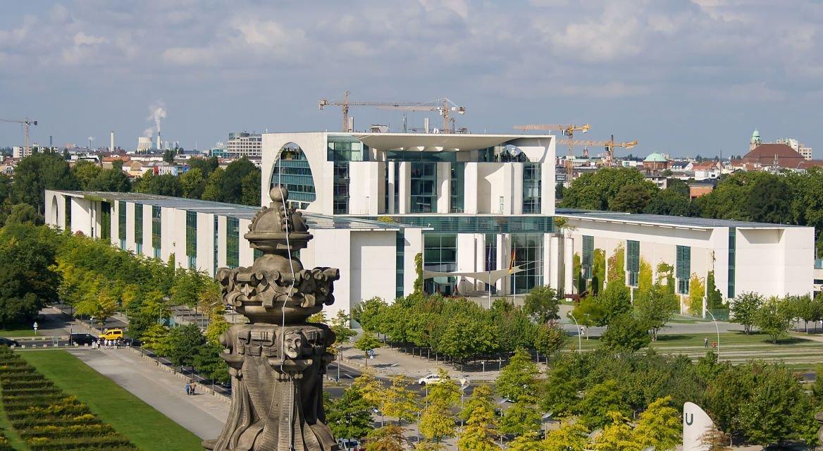 La Chancellerie, Berlin, Allemagne